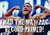 Conor McGregor May-Pac Record Primed