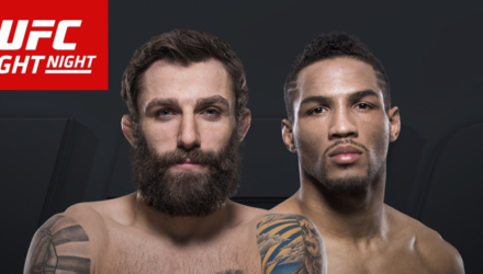 UFC Fight Night Chiesa vs Lee Fight Poster