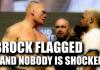 Brock Flagged - Nobody Shocked