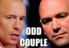 georges st pierre dana white odd couple