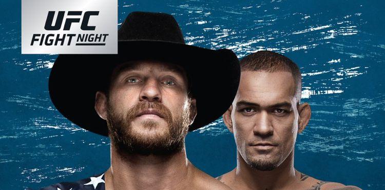 UFC Fight Night Cerrone vs Medeiros Fight Poster