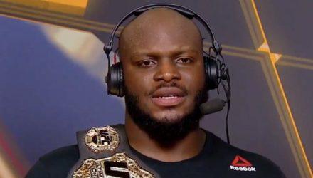 Derrick Lewis - UFC Halifax Post-fight Show